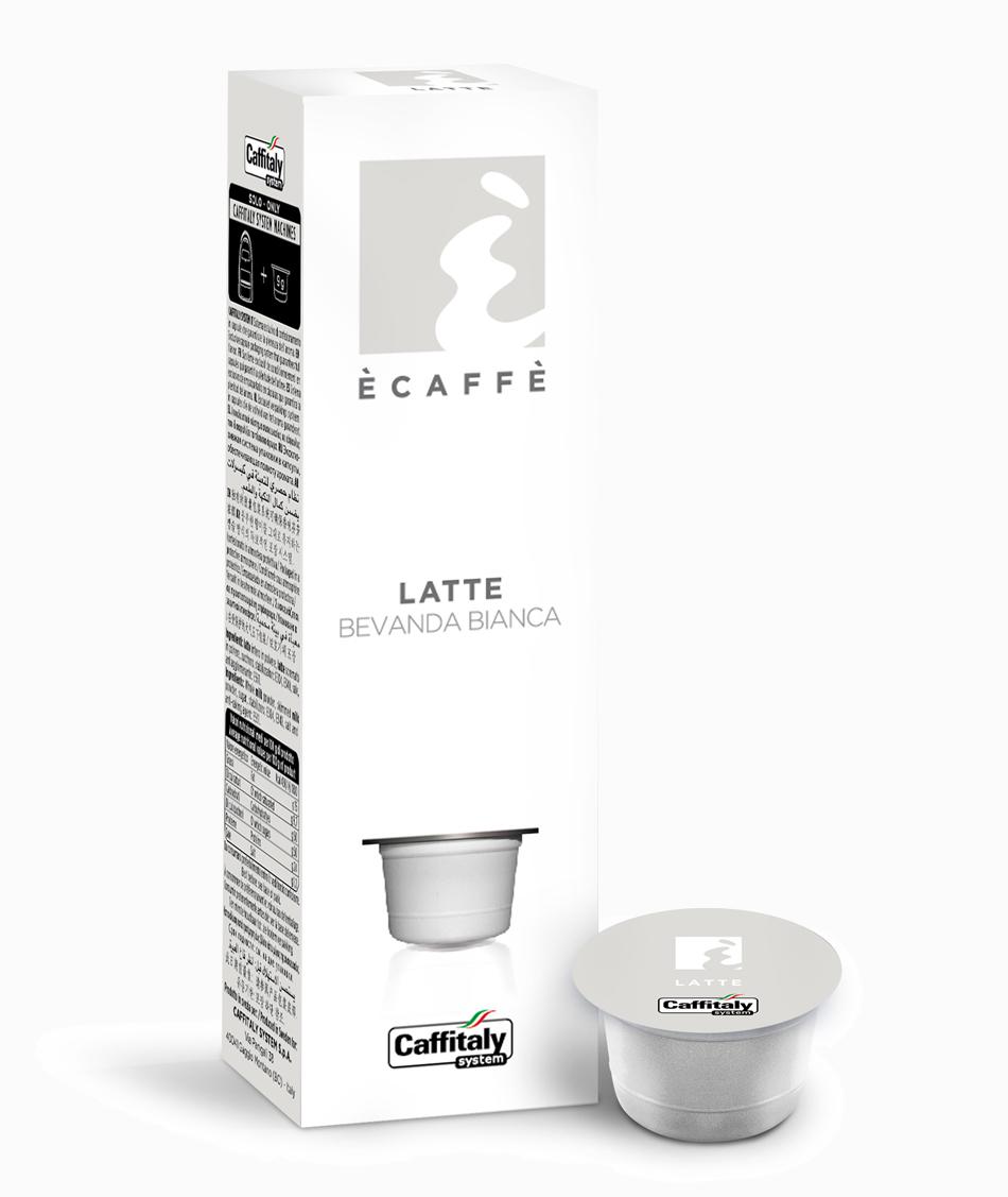 Ecaffé kapsle Caffitaly - E-Milky- Mléko - kompatibilní s Tchibo