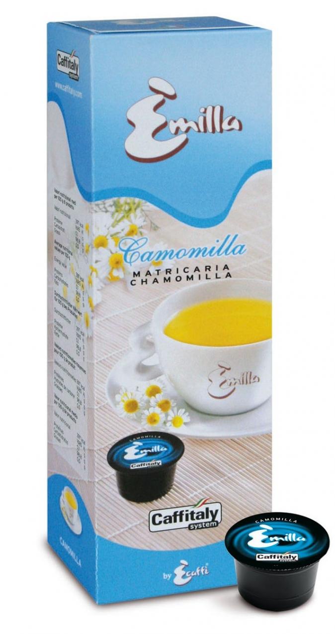Ecaffé čaj heřmánkový kapsle Caffitaly systém 10 kusů - kompatibilní s