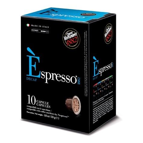 Nespresso kapsle Vergnano