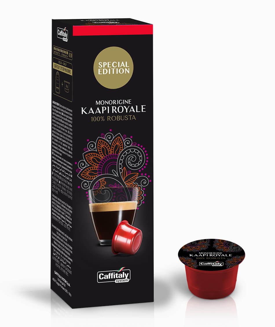 Ecaffé Ganoderma kapsle Caffitaly - 10ks - kompatibiln
