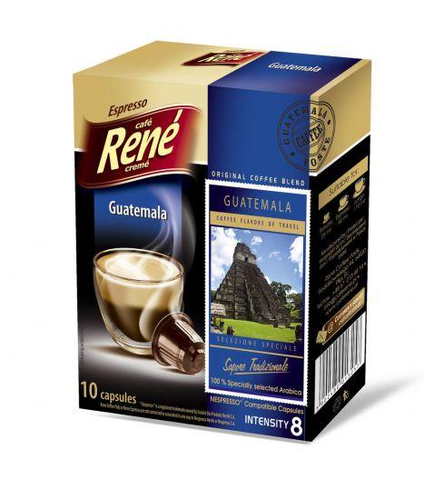 Nespresso kapsle René