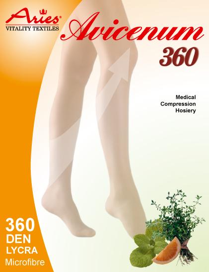 Avicenum 360 - zdravotní lýtkové punčochy bez špice, Skintex (Avicenum 360 - zdravotní lýtkové punčochy bez špice, Skintex)