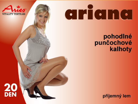 Ariana - pohodlné punčochové kalhoty s příjemným lemem v pase fb22b5ac8a
